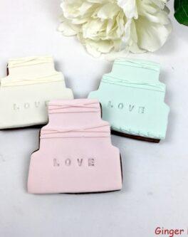 Imprint Love Cake Favours