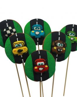 Cars Cookie Pops