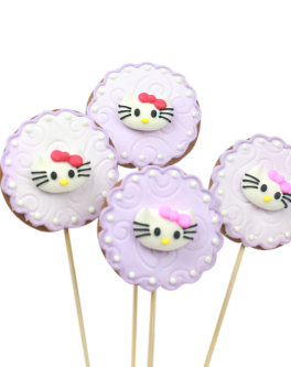 Hello Kitty Lace Cookie pops