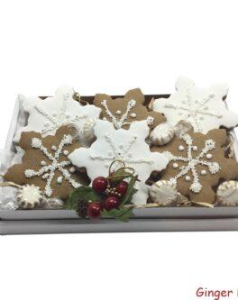 Large Snowflake Share Box