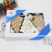 Cookies Christmas gift sharing packs trees
