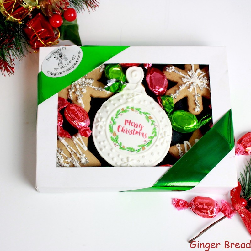 Xmas Bauble Cookie Gift Box Perfect For Christmas Gifts