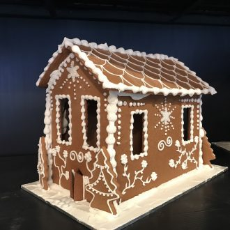 Hansel and Gretel RUSTIC Gingerbread House – Small