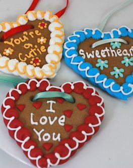 Lebkuchenherzen Gingerbread Hearts - Customised
