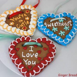 Lebkuchenherzen Gingerbread Hearts – Customised