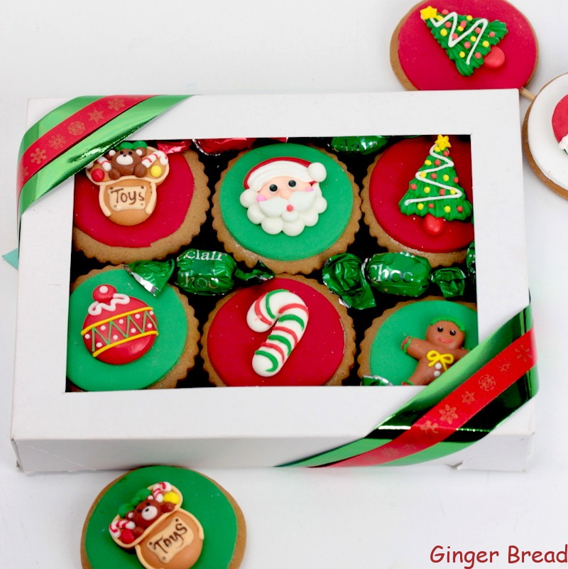Cheers Cookie Gift Box  sc 1 st  That GingerBread Place & Cheers Cookie Gift Box perfect gift for Christmas best seller Xmas gift