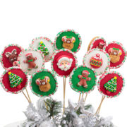 Cheer cookie pops