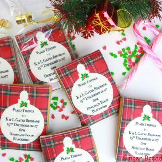 Cookies Xmas Plaid tidings web