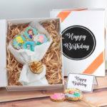 Cookie Gift boxes Happy birthday Mermaid cookies web