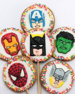Character Cookies        (10 per box)