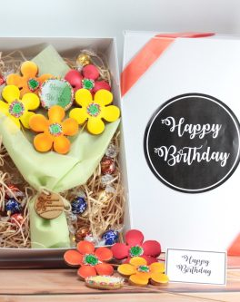 Cookie Bouquet Gift box