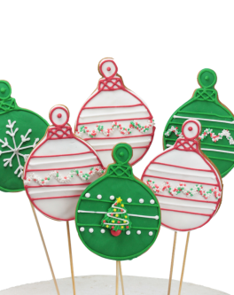 Christmas cookie baubles