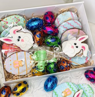 Easter Cookie and chocolates