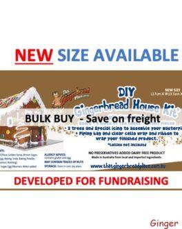 Brown gingerbread-bulk-buy -kit